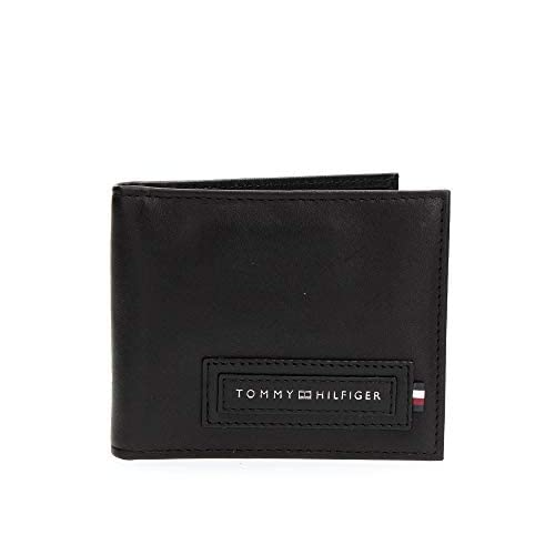 Tommy Hilfiger Mini CC Wallet with Money Clip moderno Mini CC Wallet with Money Clip Black