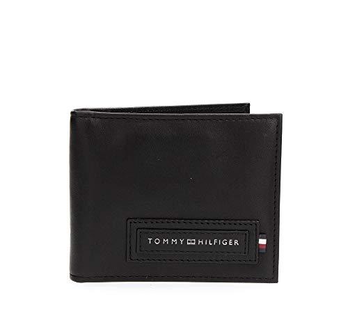 Tommy Hilfiger Herren Portemonnaie MODERN MINI CC WALLET MONEY CLIP schwarz One Size (S-XXL)