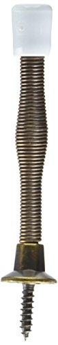 830110 Spring Door Stop, 3-Inch, Antique Brass - NATIONAL MFG/SPECTRUM BRANDS HHI N830-110