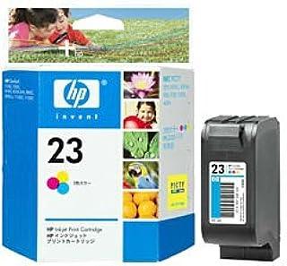 ヒューレット・パッカード HP 23プリントカートリッジ カラー