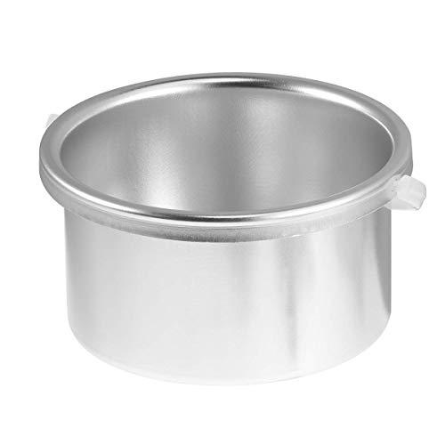LIXBD Salón portátil eléctrico calentador de cera caliente Pot Skin Depilación Spa Herramienta Depilación Depilación Cera Pot(Plata)