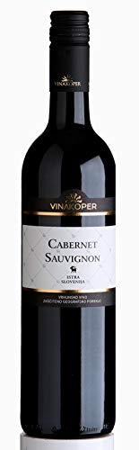 Vinakoper Cabernet Sauvignon 0,75 lt aus Istrien - wunderbarer Rotwein aus Slowenien EINWEG