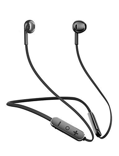 Bluetooth Headphones,GUSGU Bluetooth 5.0 Wireless Headphones with Microphone Waterproof Running Headphones,Sport Bluetooth Wireless Earphones for Workout,Running,Gym (Comfy & Fast Pairing)
