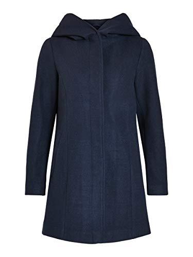 Vila Abrigo con capucha para mujer. azul marino 36