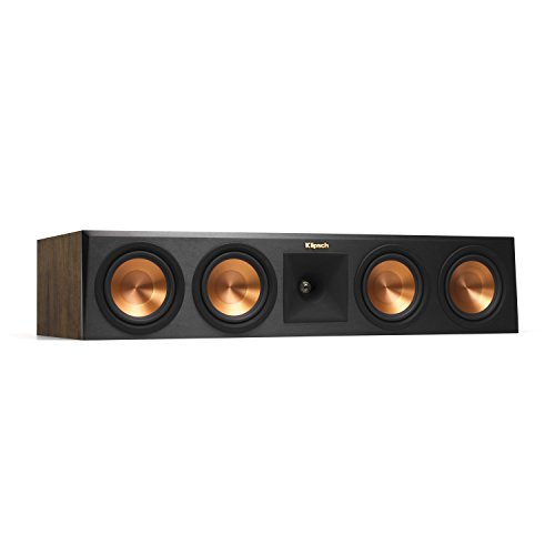 Klipsch Reference RP-450CA Premiere Dolby Atmos Center Channel Speaker, Black
