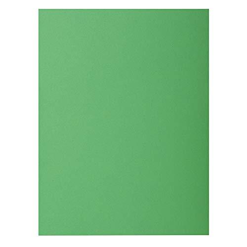 Exacompta 800004E - Lote de 100 Subcarpetas Rock'S 80, Color Verde
