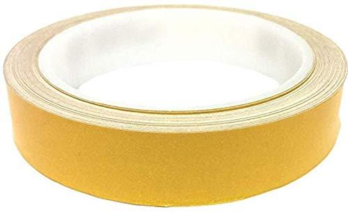 Reflexfolie - High Visibility-Band |Premium Heavy Duty, retroreflektierende Folie for Outdoor-Funktionen, Auto, Sicherheitsweste, Dachtreppengeländer, Camper Treppen, Auffahrt (Farbe : Yellow)