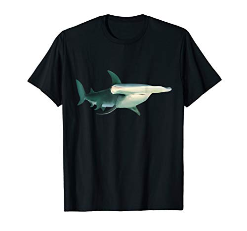 Hammerhead Shark Art Drawing Clothes Shark Outfit Gift Shark T-Shirt
