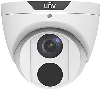 Uniview IPC3614SS-ADF28KM IP Security Camera Dome Fixed Lens 4MP Smart IR 120dB True WDR Technology and Onvif Compatible Supports 256G Micro SD Card