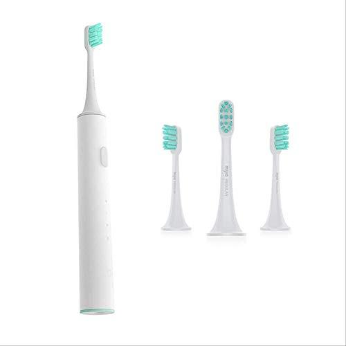 LEIXIN elektrische tandenborstel, hoge efficiëntie, Dental Care van Sonic elektrische tandenborstel T300 met hoge vibratiesnelheid Magneto 25 dagen, batterijduur wit