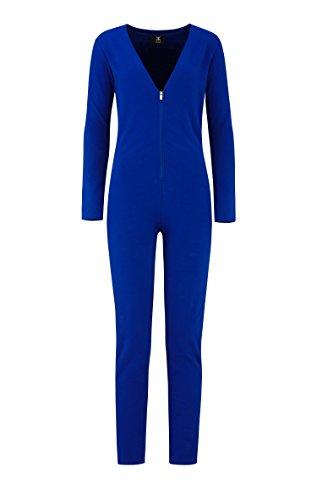 OnePiece Damen Jumpsuit Spirit, Blau (Blue), 40 (Herstellergröße: L) - 4