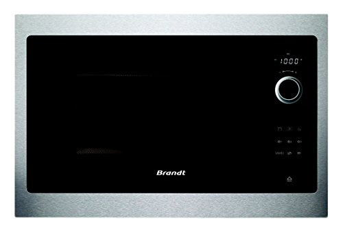 Micro ondes Encastrable Brandt BMS6115X - Micro-Ondes Integrable Inox - 26 litres - 900 W