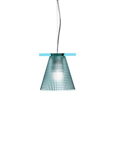 Kartell Light-Air, Lampe de Suspension Version Ciselée, Bleu