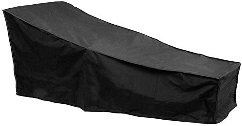 WSAD Outdoor Furniture Dust Cover Outdoor Chair Cover Waterproof Oxford Cloth Black