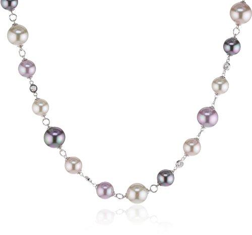 Majorica Alicia - Collar de Plata con Perla