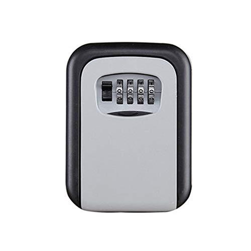 #N/V Caja de llave de contraseña de tamaño grande para decoración de llaves, caja de seguridad, para colgar en la pared, caja de contraseña