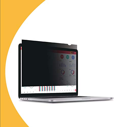 Olnema Laptop & Notebook Blickschutz Folie I Sichtschutz Folie I Privacy Filter I Blickschutzfilter I Anti-Spy Folie 12.5 Zoll (16:9) Bildschirm