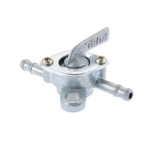 xldiannaojyb Gas de Gas Válvula de Gasolina de Gasolina Interruptor de Combustible Motorbike Mini Anillo de Llavero automático en Accesorios Accesorios Scooter Combustible Toque 6mm