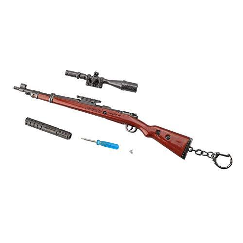 Aufee Modelo de Llavero, 98k Pistola de Juguete Accesorios de decoraci