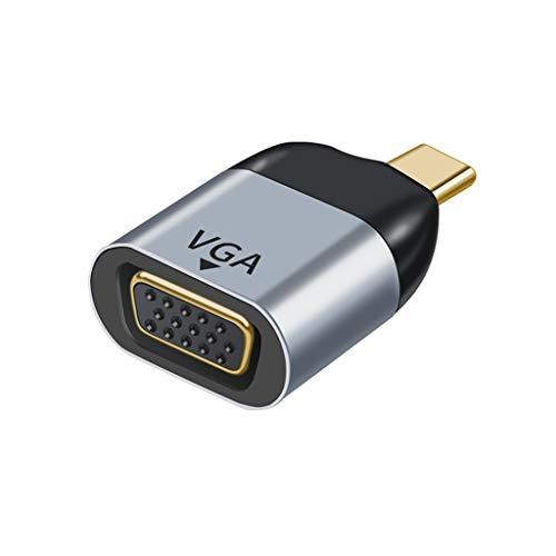 nengzhuzu Tipo C macho para HDMI/Vga/DP/RJ45/mini DP - conversor de vídeo HD 4K 60Hz para MacBook