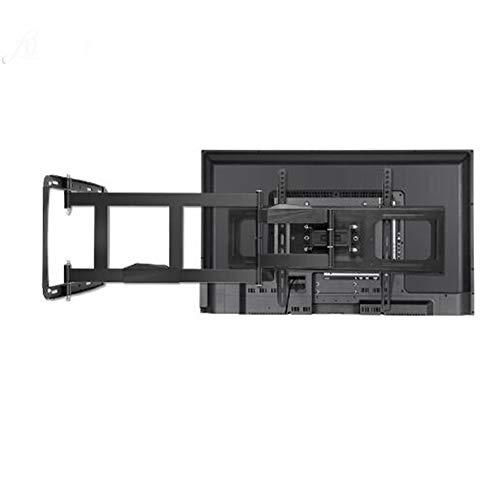 XCAYBH Soporte de pared para TV de 32 a 80 pulgadas, ángulo ajustable, 4 brazos más fuerte, soporte de TV de hasta 100 kg, 100 x 100 ~ 600 x 400 estantes de pared de TV (color: 32 65 pulgadas 750 mm)
