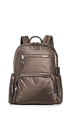 TUMI - Voyageur Carson Laptop Backpack - 15 Inch Computer Bag for Women - Mink/Silver