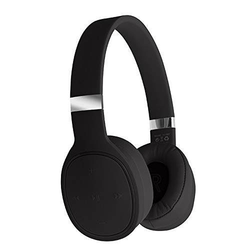 Wireless Bluetooth 5.0 Headphones Stereo Microphone Gaming Headset with Ergonomic Speaker Cover