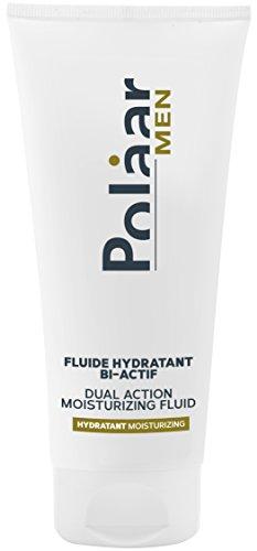 Polaar - Men - Fluide Hydratant Bi-Actif - 50ml - Soin crème homme - Peaux normales à mixtes et sensibles - Effet matifiant - Après rasage - Made in France