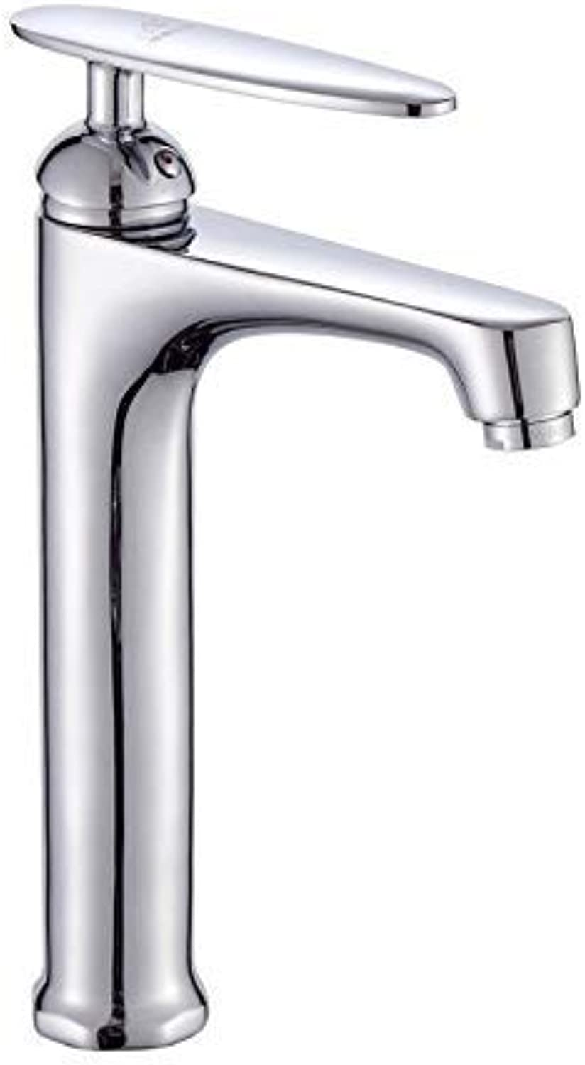 SEBAS HOME Taps Faucet Kitchen Dish Basin Basin Height Hot And Cold Water Mixer Tap Copper Single Hole Bathroom Above Counter Basin Faucet