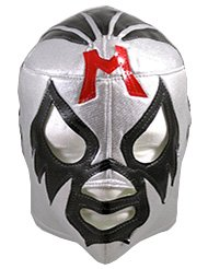 MIL MASCARAS Lucha Libre Wrestling Mask (pro-fit) Costume Wear - Silver