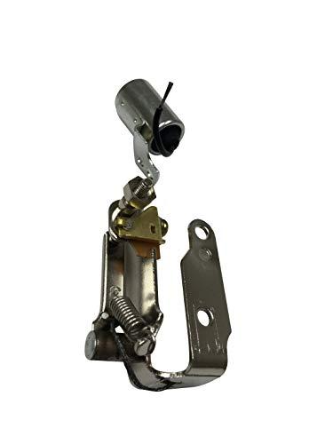 ENGINERUN Set mit Zündspitzen und Kondensatoren, kompatibel mit Briggs & Stratton 13-16 PS, ersetzt OEM 298185 298060 Ref. Stens 450-148 Oregon 33-601