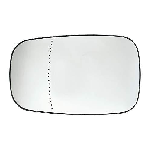 Lasamot Vetro Specchio retrovisore Esterno Sinistro Vetro Specchio retrovisore per Renault: Megane II 2, Laguna II 2, Clio III 3 7701054752