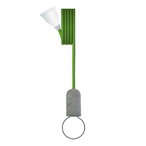 Nud Collection CTT45 Base Support de Lampe Concrète Onlime Lime
