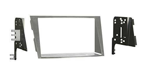 Metra 95-8903S Double DIN Installation Dash Kit for 2010 Subaru Legacy and Outback (Silver)