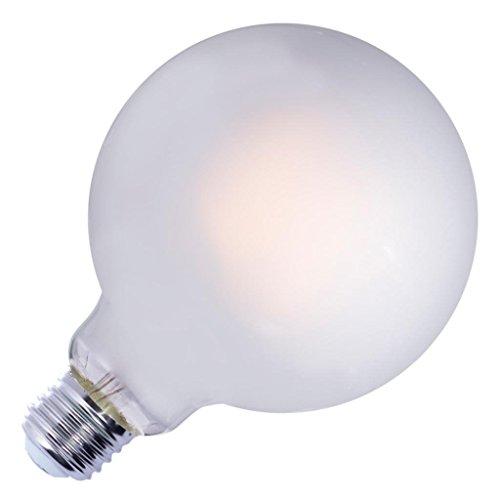 Bulbrite LED G40 Dimmable Medium Screw Base (E26) Light Bulb, 75 Watt Equivalent, 2700K, Frost
