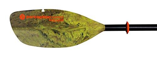 "Pescador Adjustable Kayak Fishing Paddle -2 Piece Moss camo, 230-250cm/90.5-98.5"""