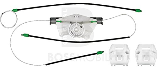 Original Bossmobil BORA, Golf 4, Vorne Links 4/5 Türig, manuell oder elektrischer Fensterheber-Reparatursatz
