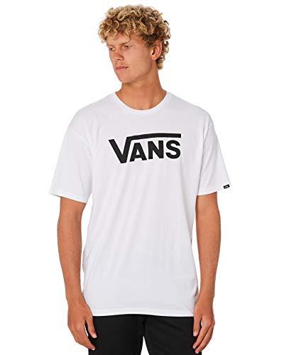 Vans Herren Shirt M Classic, White/Black, S, VGGGYB2