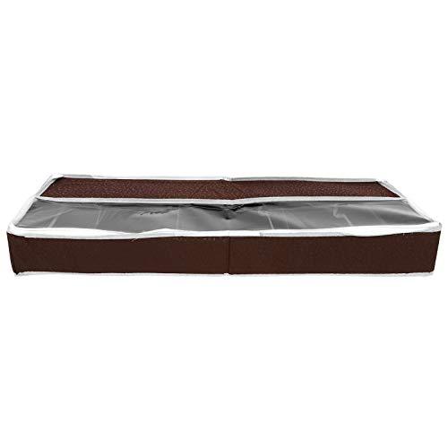 Skoförvaringslåda, skosfäste för sänglådor, PVC för sovsal(Large size (84 * 31 * 11.5cm))