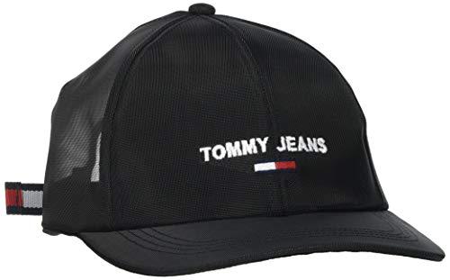 Tommy Jeans Damen TJW Sport Cap MESH Hut, schwarz (Netzstoff), Einheitsgröße