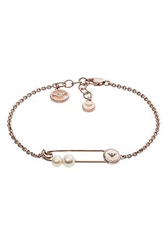 Emporio Armani Damen-Kettenarmband 925 Sterlingsilber Perle EG3381221
