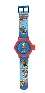 Patrulla Canina DMW050PA Reloj Pulsera con proyector de Imagen (Lexibook, Color Azul, única