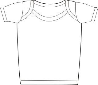 Baby Jay Cotton Undershirt T-Shirt, Short Sleeve Lap Shoulder - WTSE 24-36 5-Pack