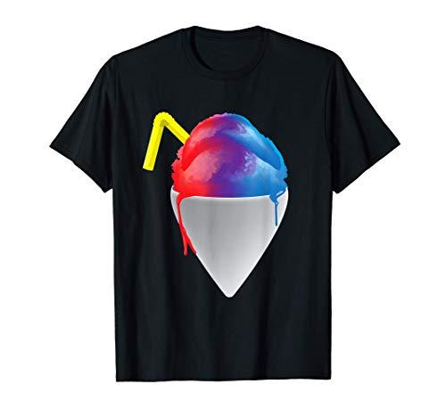 Sommer-Schneekegel rasierte Eiszapfen Eis T-Shirt