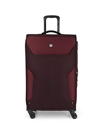 Gabol Trolley L Nordic Suitcase, 50 cm, Burgundy (Red) - 118547 026