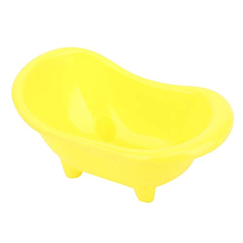 Fournyaa Hamster Badewanne, kleine Haustiere Badewanne, schöne Hamster Badewanne für kleines Haustier für Hamster Haustierbedarf Haustier Toilette