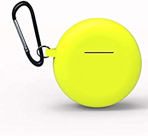 Suitable Silicone Dropproof Headphone Case for Huawei Freebuds3 - Yellow