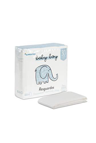 SUMEDTEC - 30 Cambiador Desechable para Bebé Suapel para camas y cambiadores de bebes y niños (Niño)