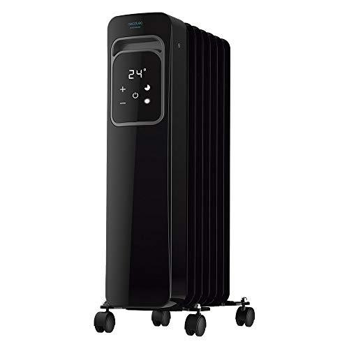 Cecotec Radiador Eléctrico de Aceite Ready Warm 7000 Touch Black. Bajo Consumo,...