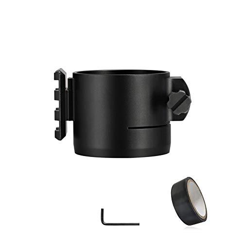WILDGAMEPLUS® Adaptador de 45 mm especialmente adaptado para la cámara de visión nocturna NV007 con riel para telémetro o linterna NV007-RFADP45